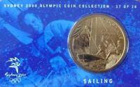 AUSTRALIA 2000. $5 DOLLARS SYDNEY OLYMPIC - BU UNC - SAILING