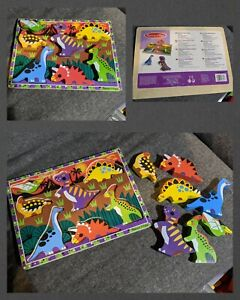 Melissa And Doug Dinosaur Puzzle