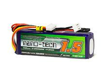 RC Turnigy nano-tech 1500mAh LiFe 3S 9.9V Transmitter Pack (Taranis Compatible)