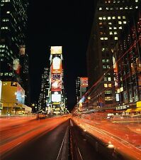 TIMES SQUARE GiAnT Panel Wall Decals NEW YORK Room Decor Stickers Scene Art Kit