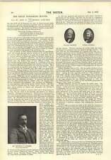 1897 Drama Critics archer rose Morton Great Publishing House Chambers