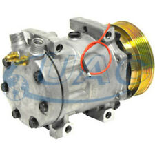 NEW SANDEN STYLE SD709 AC COMPRESSOR AND CLUTCH 7416 MAINLY FOR DEALER ADD ON