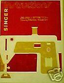 SINGER MODEL 417 SEWING MACHINE INSTRUCTION MANUAL