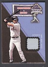 Manny Ramirez 2002 Flair Jersey Heights Game Worn Jersey Card