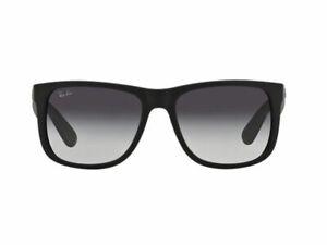 Ray-Ban Justin Classic RB4165 601/8G 54-16, Grau Verlaufsgläser, 54mm Glasbreite