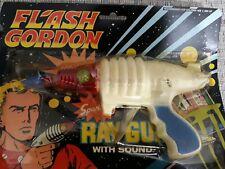 VINTAGE Flash Gordon SPARKLING Ray Gun WITH SOUND