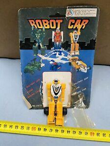 ROBOT CAR TRANSFORMER F1 BOOTLEG TRASFORMABILE INTERCHANGER NEW