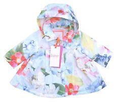 Ted Baker Baby Girl Jacket Rain Coat Floral Designer Newborn Gift 0-3 Months