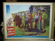 CALAMITY JANE AND SAM BASS, orig 1949 LC #5 (Howard Duff, Dorothy Hart)