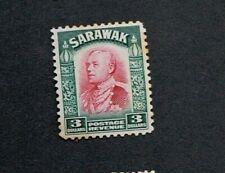SARAWAK 1934 $3 SG 123 Sc 131 MLH gum toning