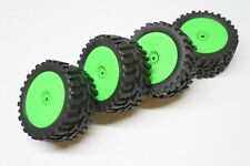 Losi 1/14 Mini 8ight-T Truggy Wheels & Tires Offroad Terrain DE Racing 12mm hex