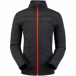 Spyder Mens Encore Zip Fleece Jacket