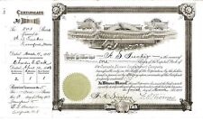 Cupsuptic Stream Improvement Company > 1911 Maine old stock certificate share