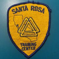 Santa Rosa Training Center California CA Police Sheriff Patch