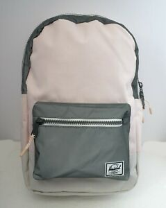 HERSCHEL SUPPLY SETTLEMENT MID 17L (PINK/GREY/WHT) BACKPACK MSRP $60 NEW w/TAG!