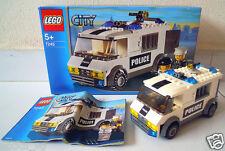 LEGO CITY POLICE 7245 Prisoner Transport * Good condition, Used *