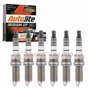 6 pc Autolite Iridium XP Spark Plugs for 2011-2016 Chrysler Town & Country wn