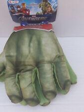 Marvel Hulk 2012 Soft Green Gloves Hands Accessories Costume Toy Kids NEW 4+