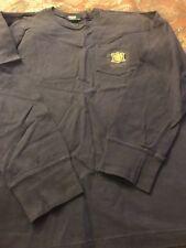 Polo Ralph Lauren Boys Dark Blue  Long Sleeve Shirt- Size L 16-18. Free shi