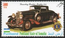1931 DUESENBERG Model J Murphy Roadster Car Automobile Stamp