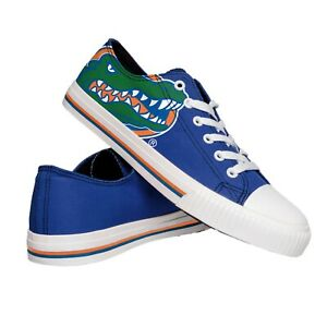 Florida Gators NCAA Men's Low Top Big Logo Canvas Shoes FREE SHIP!
