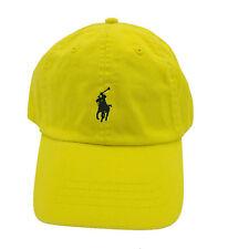 Polo Ralph Lauren Yellow Mens One-size Adjustable Baseball Cap Hat 091 8188595c955