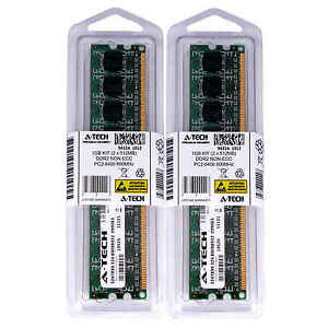 1GB 2 x 512MB DDR 2 Desktop Modules 6400 Low Density 240p 240-pin Memory Ram Lot