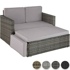 Poly Rattan Lounge Set Gartenmöbel Sitzgruppe Gartenset Sofa Couch Garnitur