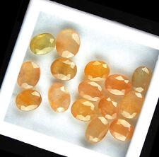 60 Cts+/15 Pcs Finest Quality Natural Yellow Sapphire Wholesale Lot Sri Lanka