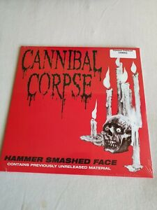 "12"" Cannibal Corpse - Hammer smashed face Opaque Oxblood 300"