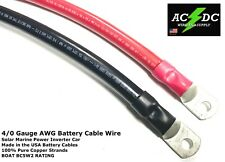 40 Gauge Awg Battery Cable Wire Solar Marine Power Inverter Car Sgt Saej1127