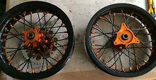 """***FA-BA*** RUOTE COMPLETE mozzo CNC KTM SX 65 12""""  MINIMOTARD  complete wheel"""