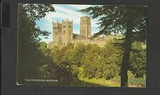 Vintage Salmon Colour Postcard The Cathedral Durham posted 1981
