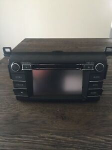 Toyota RAV4 Genuine Radio Head Unit 2015 Up
