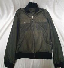 Women's Black Mesh Karl Lagerfeld Lightweight Jacket Size 6 RRP £ 240 #927