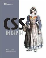 CSS in Depth by Keith J Grant 9781617293450 | Brand New | Free UK Shipping