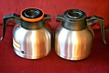 Bunn Thermal Coffee Carafe 2Pc Great for Restaurants Assisted Living Group Homes