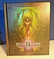 THE ART OF STAR CRAFT II HEART OF THE SWARM HARD COVER BOOK