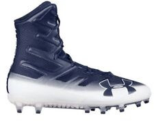 New Under Armour Highlight MC Football Cleats Navy 3000177 MSRP $130 Size 14