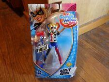 "2015 MATTEL--DC SUPER HERO GIRLS--6"" HARLEY QUINN FIGURE (NEW)"