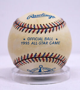 1995 All Star Game Official MLB Rawlings Baseball Ball Texas Rangers