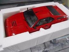 BMW M1 Supersportwagen rot red 1979 HQ Norev RAR 1:18