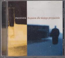 ZBIGNIEW PREISNER REQUIEM DLA MOJEGO PRZYJACIELA 1998 CD OOP OST POLAND POLONIA