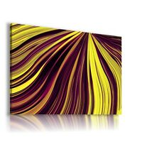 ABSTRACT WAVES FIELD CANVAS WALL ART PICTURE LARGE SIZES AB859 X MATAGA