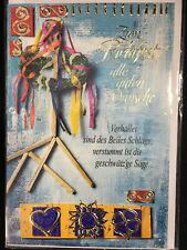 Richtfest Yabue Foto-Karte Grußkarte Einzug Richtkranz 16x11cm
