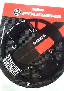 FOURIERS CNC BCD104 Mountain Bike Bicycle Chainring Bash Guard fit 30-40T DX001