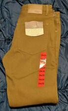 NWT Weatherproof Vintage Men's Fleece-Lined Jeans Work Pants 34 x 30