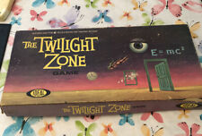 The Twilight Zone 1963 IDEAL Vintage Board Game Complete Rare