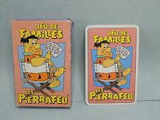 Pierrafeu Flintstones Jeu de cartes 7 sept Familles 1994 Hanna Barbera