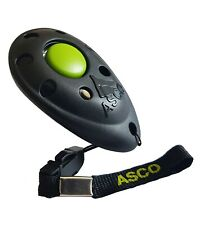 ASCO Premium Clicker für Clickertraining , Hunde Pferde Katzen Profi - Klicker